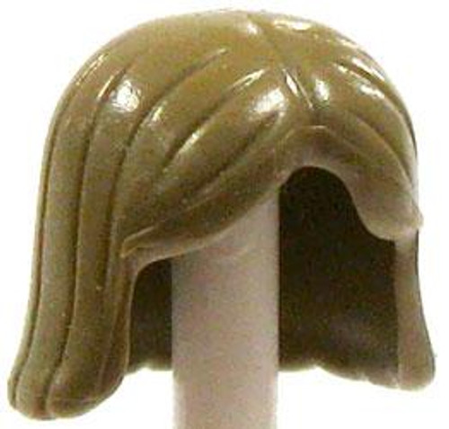 LEGO Minifigure Parts Dirty Blonde Shoulder Length Loose Hair [Loose]