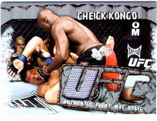 UFC Round 3 Fight Mat Relic Cheick Kongo FMR-CK