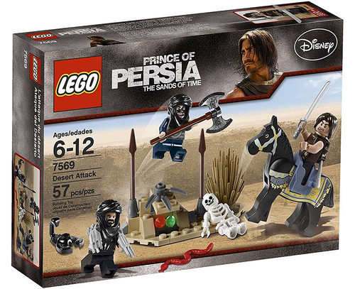 LEGO Prince of Persia Desert Attack Set #7569