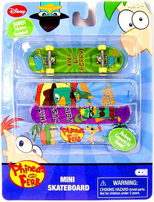 Disney Phineas and Ferb Mini Skateboard Pack