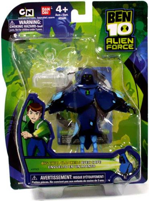 Ben 10 Alien Force Alien Collection Big Chill Action Figure [Cloaked]