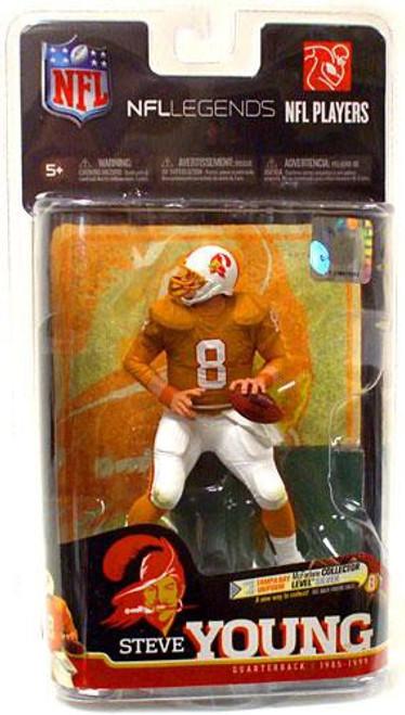 McFarlane Toys NFL Tampa Bay Buccaneers Sports Picks Legends Series 6 Steve Young Action Figure [Orange Jersey]