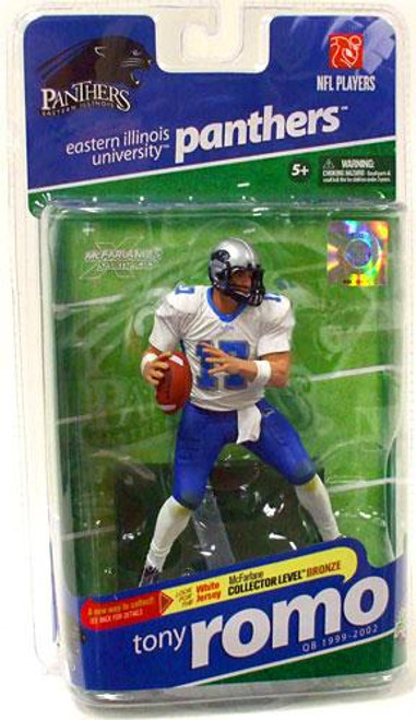 McFarlane Toys NCAA College Football Sports Picks Series 2 Tony Romo Action Figure [White Jersey]