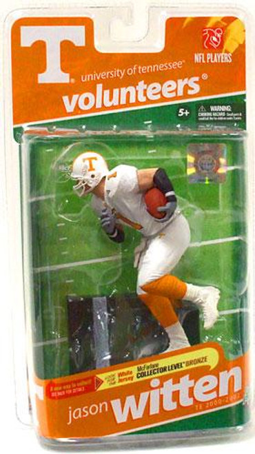 McFarlane Toys NCAA College Football Sports Picks Series 2 Jason Witten Action Figure [White Jersey]