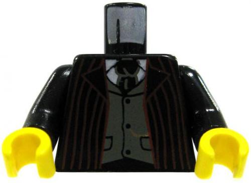 LEGO Minifigure Parts Red Striped Suit Loose Torso [Loose]