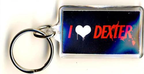 Dexter I Heart Dexxter Keychain [Lucite]