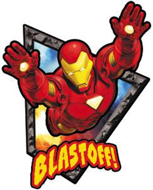 Marvel Iron Man Blastoff Sticker