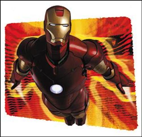 Marvel Iron Man Flare Sticker