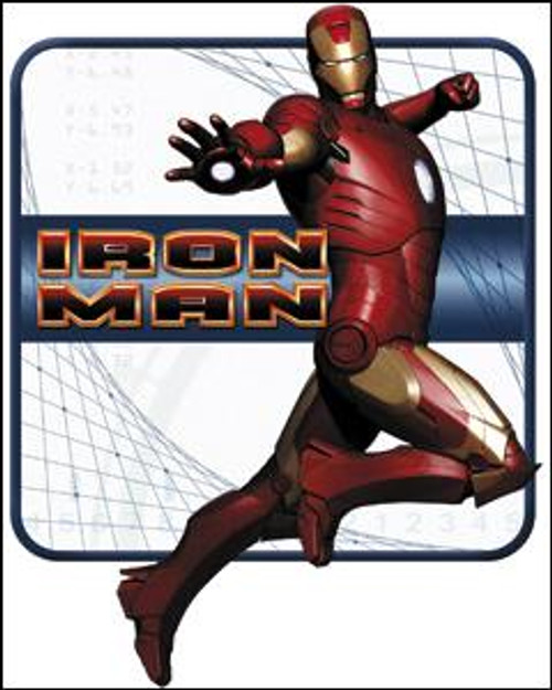 Marvel Iron Man Pose Sticker