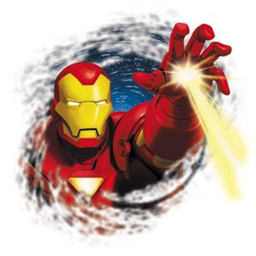 Marvel Iron Man Invincible Hand Sticker