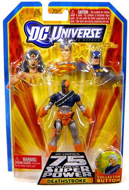DC Universe 75 Years of Super Power Infinite Heroes Deathstroke Action Figure