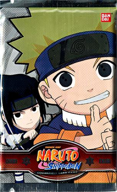 Naruto Shippuden Card Game Chibi Tournament Series 1 Booster Pack