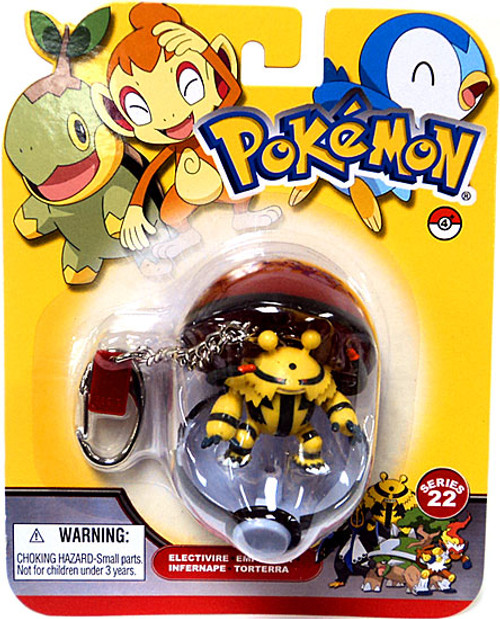Pokemon Diamond & Pearl Series 22 Electivire Keychain