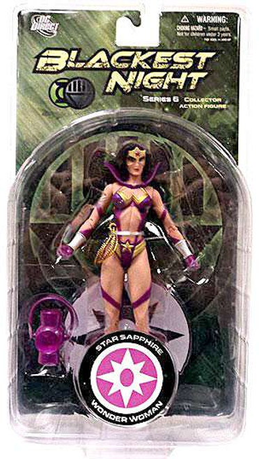 DC Green Lantern Blackest Night Series 6 Star Sapphire Wonder Woman Action Figure