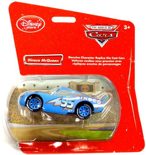 Disney Cars 1:48 Single Packs Dinoco McQueen Exclusive Diecast Car