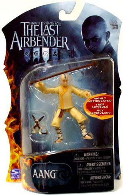 Avatar the Last Airbender Aang Action Figure [With Momo]