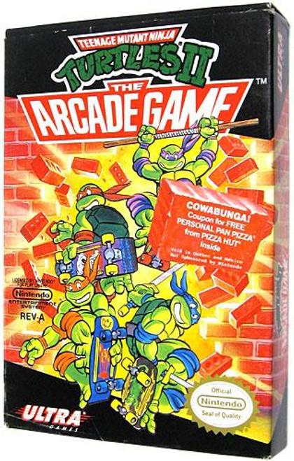 Nintendo NES Turtles II: The Arcade Game Video Game Cartridge [Opened]