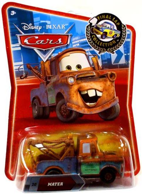 Disney Cars Final Lap Collection Mater Exclusive Diecast Car