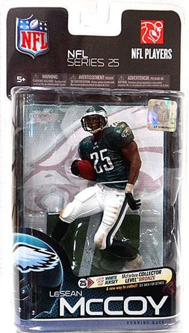 McFarlane Toys NFL Philadelphia Eagles Sports Picks Series 25 LeSean McCoy Action Figure [Green Jersey]
