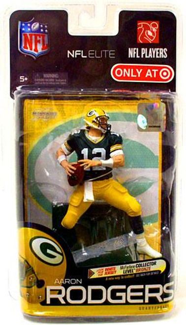 McFarlane Toys NFL Green Bay Packers Sports Picks Elite Series 1 Aaron Rodgers Exclusive Action Figure [Green Jersey]