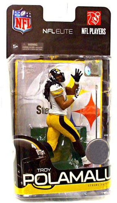 McFarlane Toys NFL Pittsburgh Steelers Sports Picks Elite Series 1 Troy Polamalu Exclusive Action Figure