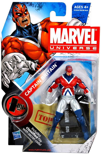 Marvel Universe Series 10 Captain Britain Action Figure #26