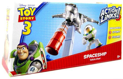 Toy Story 3 Action Links Vehicle Stunt Spaceship Playset