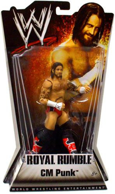 WWE Wrestling Royal Rumble Series 1 CM Punk Action Figure