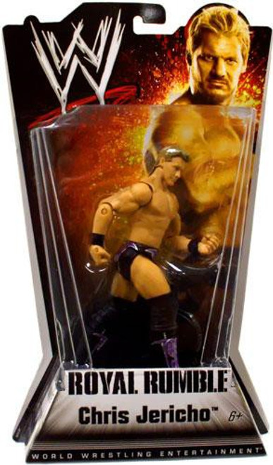 WWE Wrestling Royal Rumble Series 1 Chris Jericho Action Figure