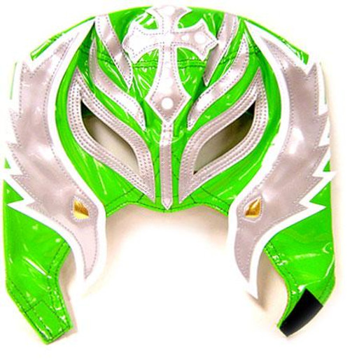 WWE Wrestling Rey Mysterio Replica Mask [Youth, Green & Gray]