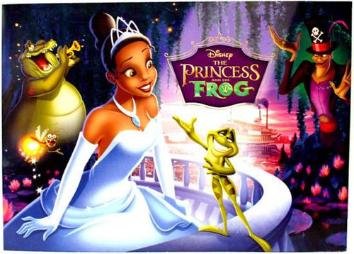 Disney The Princess and the Frog Lithograph