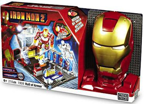 Mega Bloks Iron Man 2 Hall of Armor Set #1959