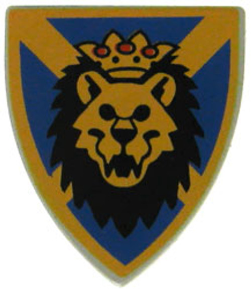 LEGO Castle Shields Small Lion Shield [Loose]