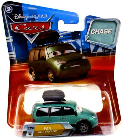 Disney Cars Lenticular Eyes Series 2 Van with Stickers Diecast Car