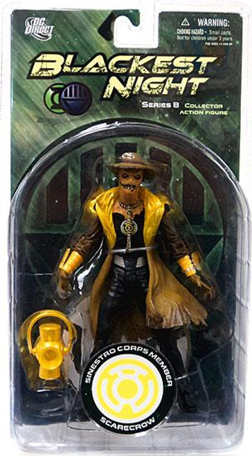DC Green Lantern Blackest Night Series 8 Sinestro Corps Member Scarecrow Action Figure