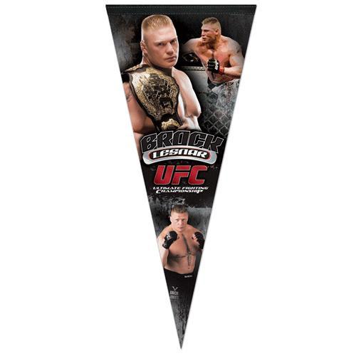 UFC Brock Lesnar Pennant