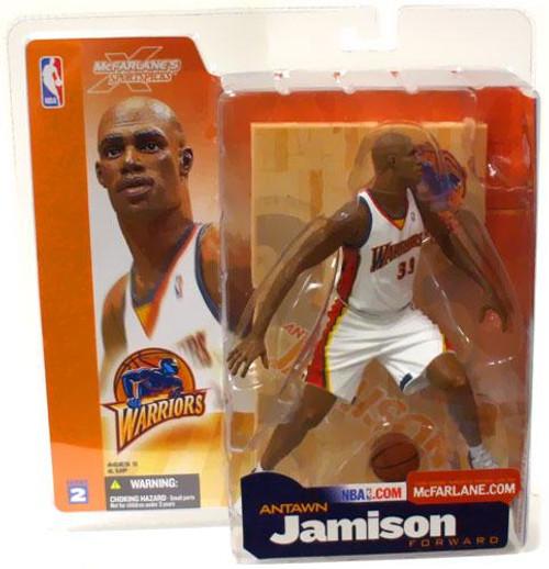 McFarlane Toys NBA Golden State Warriors Sports Picks Series 2 Antawn Jamison Action Figure [White Jersey]