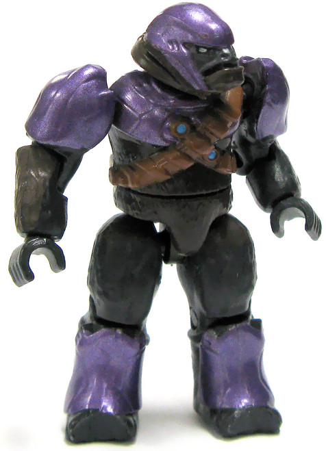 Mega Bloks Halo Loose Covenant Purple Brute Minifigure [Loose]