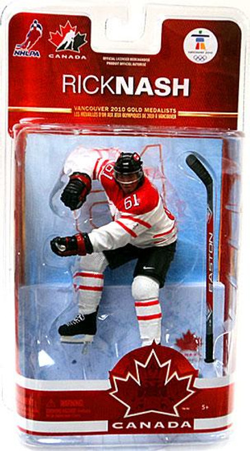 McFarlane Toys NHL Columbus Blue Jackets Sports Picks Team Canada Series 2 Rick Nash Action Figure [White Jersey]