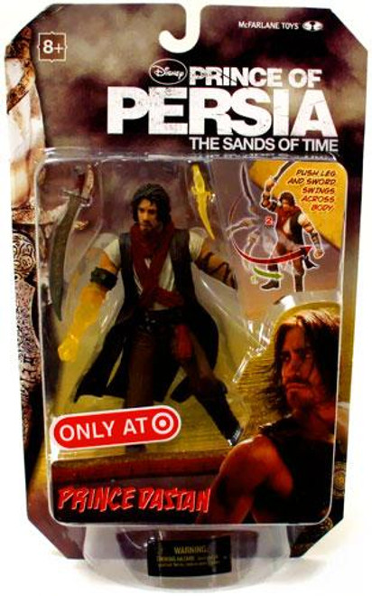 McFarlane Toys Prince of Persia The Sands of Time 6 Inch Prince Dastan Exclusive Action Figure [Translucent Arm]