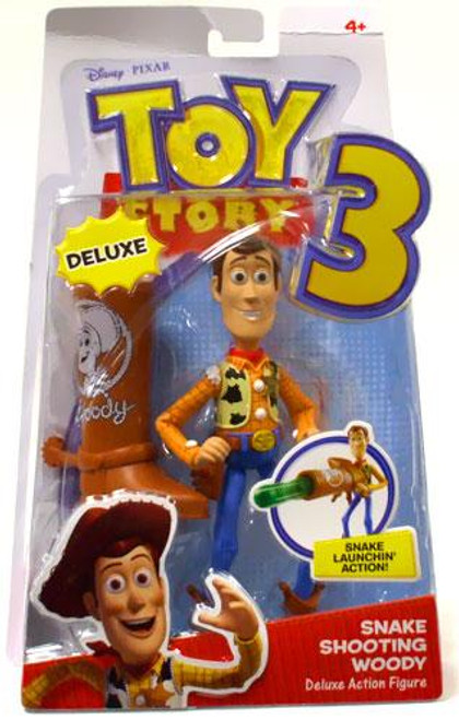 Toy Story 3 Deluxe Woody Action Figure [Snake Shooting]