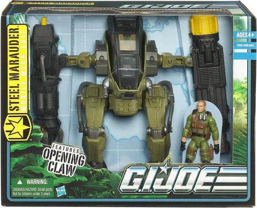 GI Joe Pursuit of Cobra Steel Marauder Action Figure Vehicle [Mobile Mech Suit]