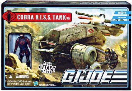 GI Joe Pursuit of Cobra Cobra H.I.S.S. Tank v.5 Action Figure Vehicle
