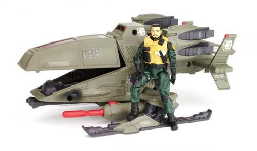 GI Joe Pursuit of Cobra Ghosthawk Action Figure Vehicle