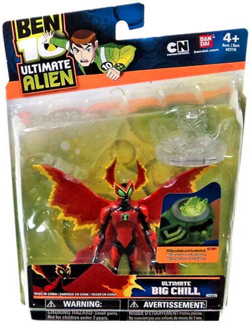 Ben 10 Ultimate Alien Big Chill Action Figure [Ultimate]