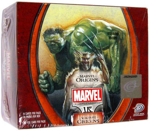 Marvel VS System Trading Card Game Origins Booster Box