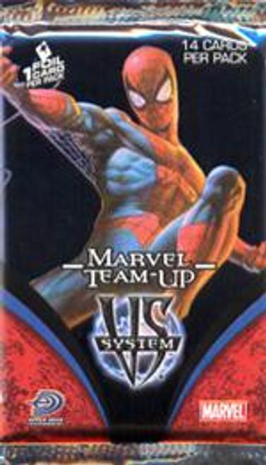VS System Trading Card Game Marvel Team Up Booster Pack