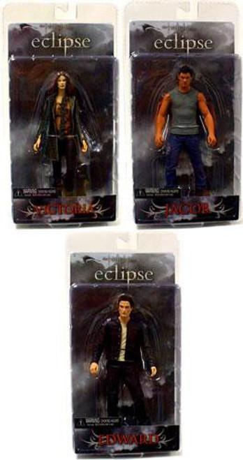 NECA Twilight Eclipse Series 1 Set of 3 Action Figures