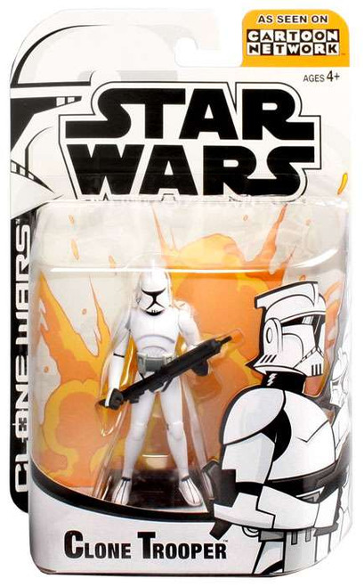 Star Wars The Clone Wars Clone Wars Cartoon Network Clone Trooper Action Figure