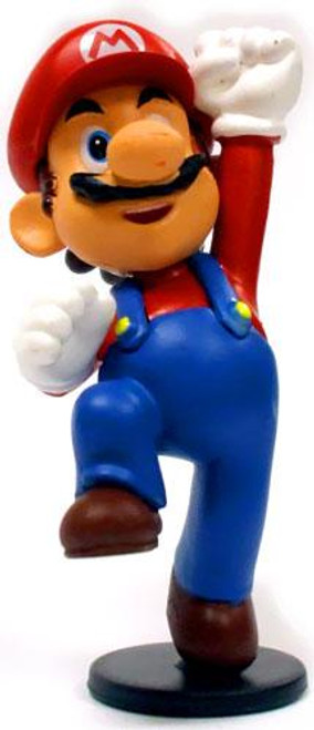 Super Mario Mario 2-Inch Mini Figure [Jumping, Loose]